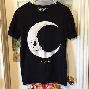 Rare Killstar Skull Moon Shirt